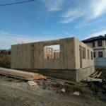 СИП дом в Анапе на бетонном фундаменте