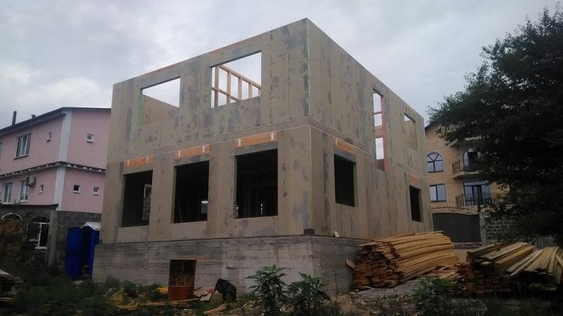 Большой СИП дом в Адлере
