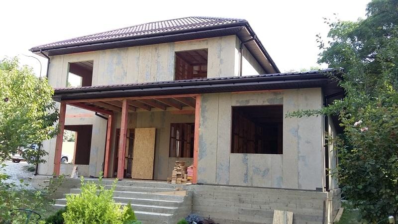 Большой СИП дом в Мысхако