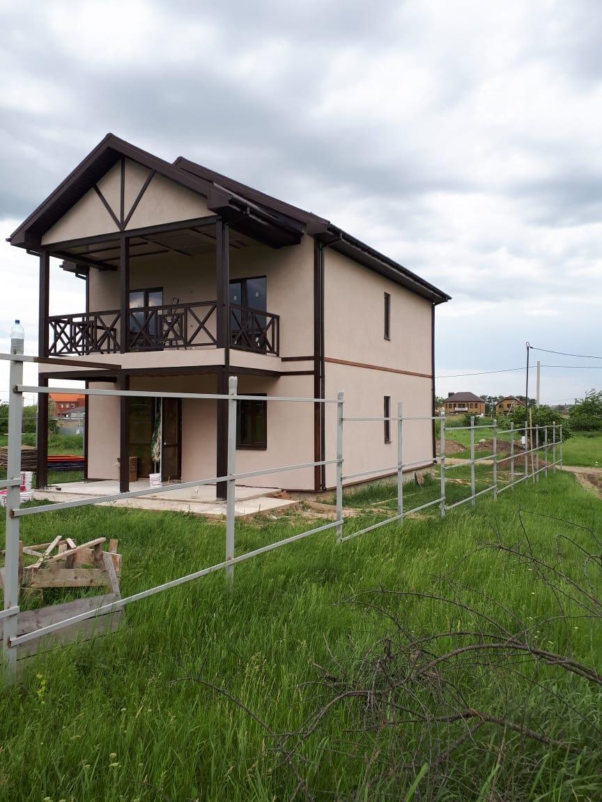 Построенный СИП дом в Армавире