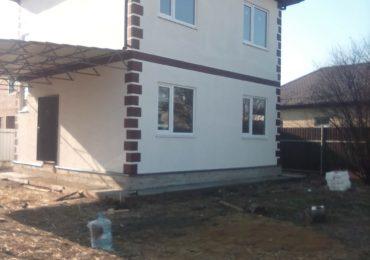Построенный дом СИП-18-32 в Краснодаре