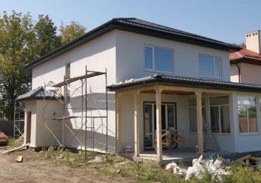 Построенный дом СИП-19-13 в пригороде Краснодара