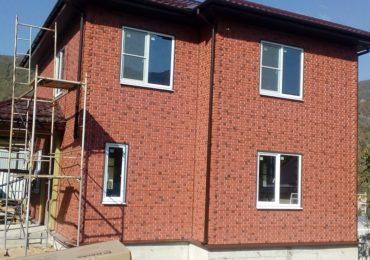 Построенный СИП дом в Лазаревском