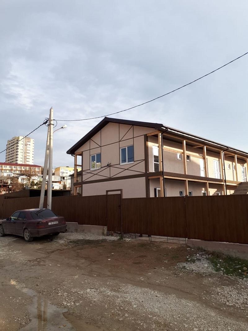 Построенная СИП гостиница в Дивноморске