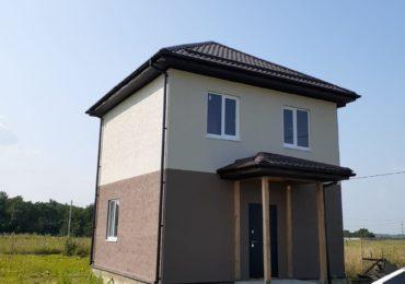 Построенный СИП дом в Григорьевской