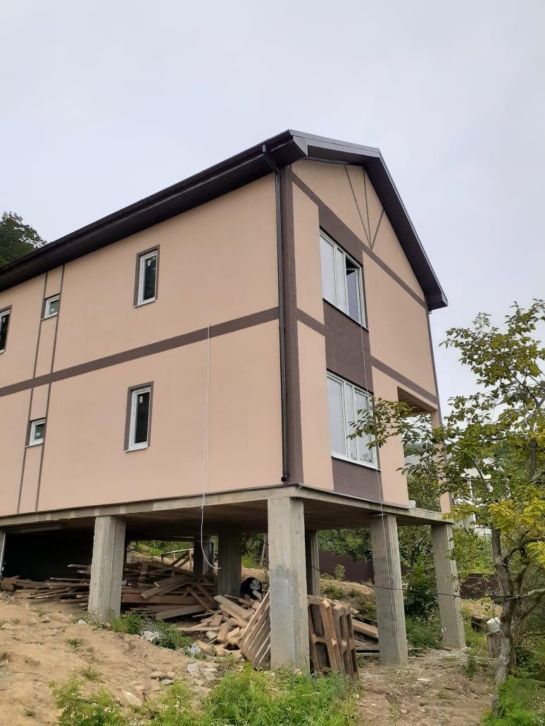 Построенный дом в Сочи