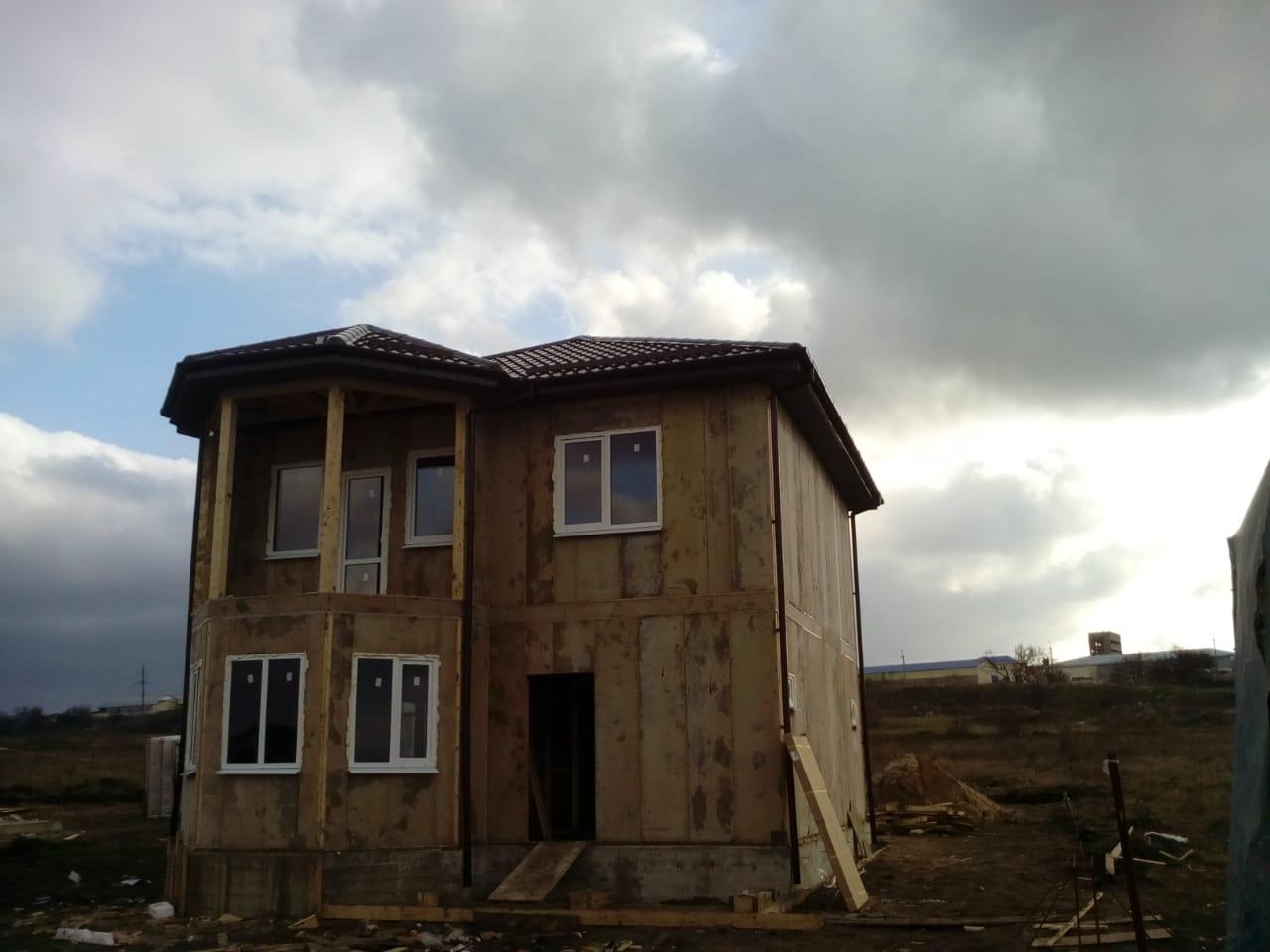 Дом из СИП панелей в Анапе