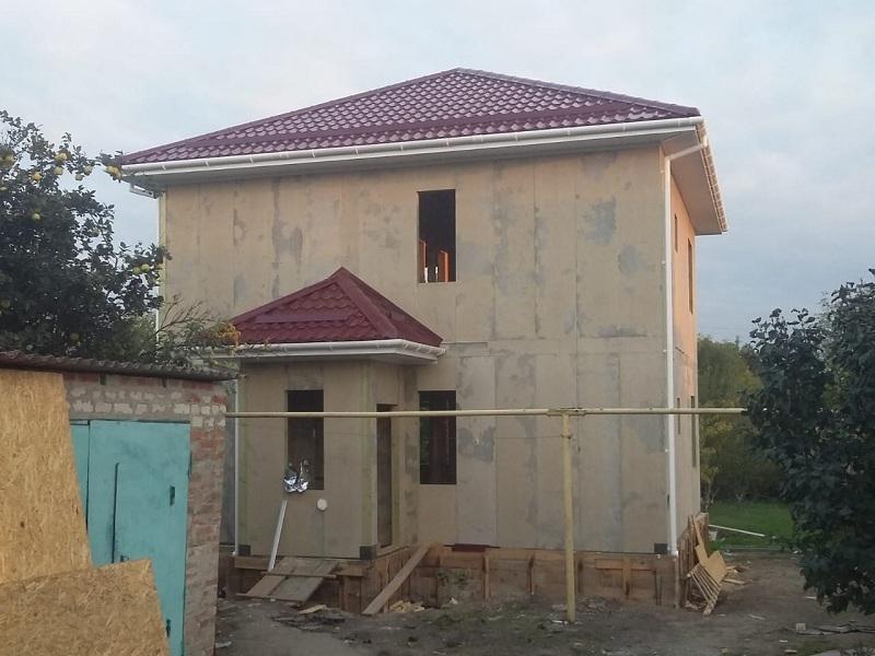 Дом из СИП панелей в Новотитаровской