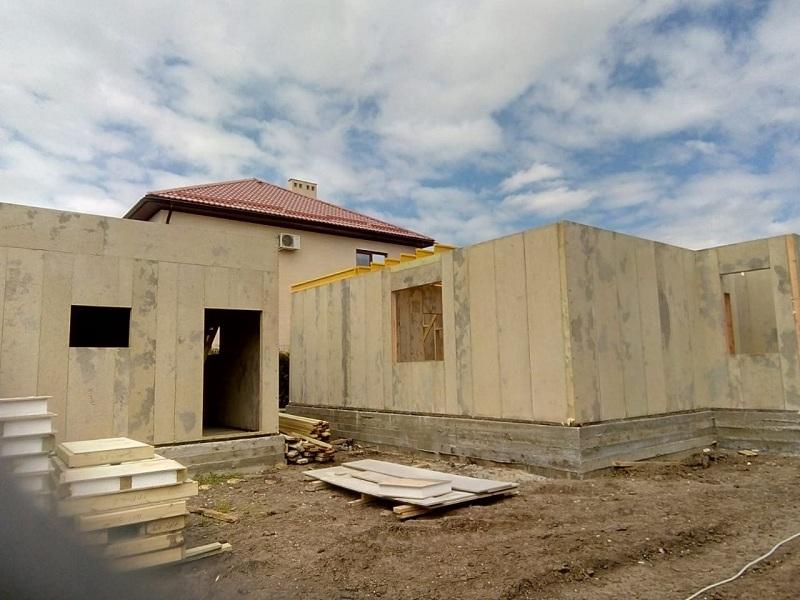 СИП дом 250 кв.м. в Краснодаре