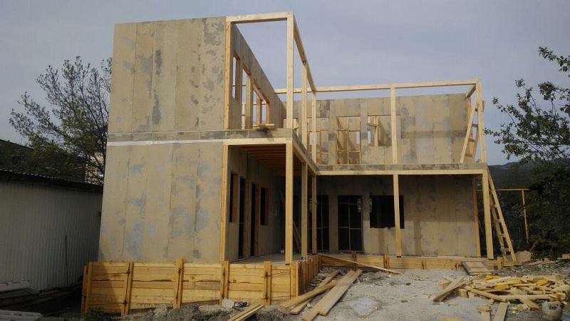 Строительство минигостиницы из СИП