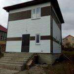 Двухэтажный СИП дом в Сочи