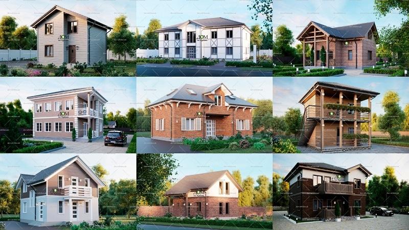 Новые проекты мини гостиниц из СИП панелей и домов