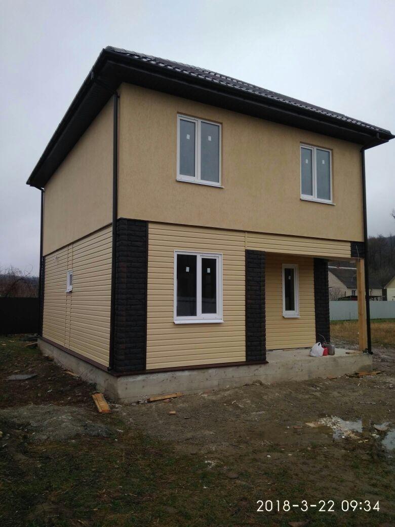 Отделка СИП дома в Пятигорской