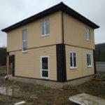 Отделка дома из СИП панелей в Краснодарском крае