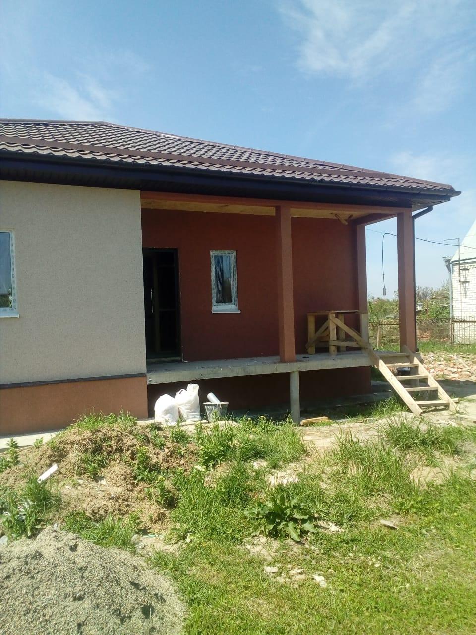 Отделка дома из СИП панелей под Краснодаром