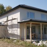 Отделочные работы СИП дома в пригороде Краснодара