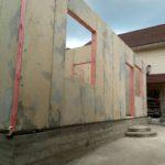 Строительство дома из СИП панелей 65м2