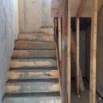 Заливка бетонной лестницы в СИП доме