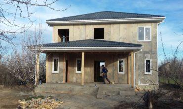 Дом из СИП-панелей на цементной основе в Северской
