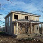 Дом из СИП-панелей на цементной основе в Краснодарском края
