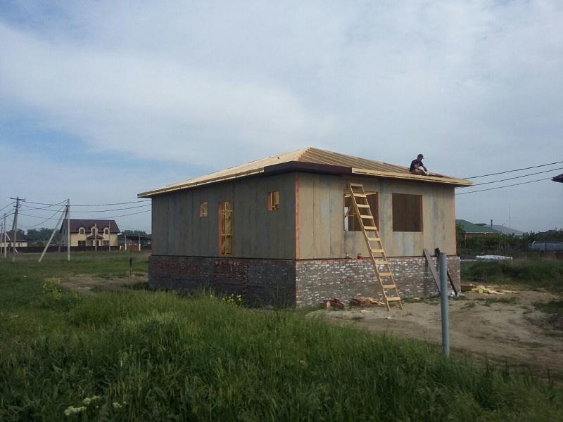 Строительство СИП дома в Славянске-на-Кубани
