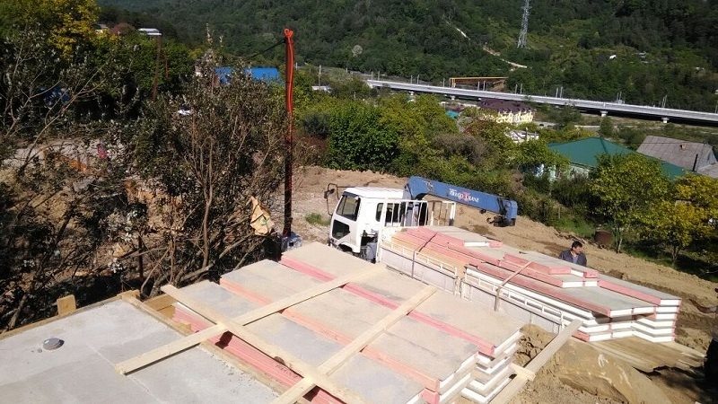 Строительство СИП дома в Адлере