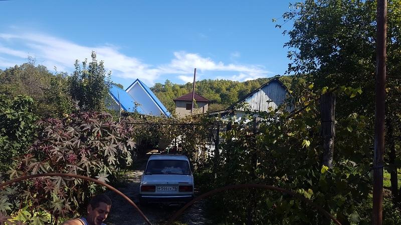 Строительство СИП дома в труднодоступном месте