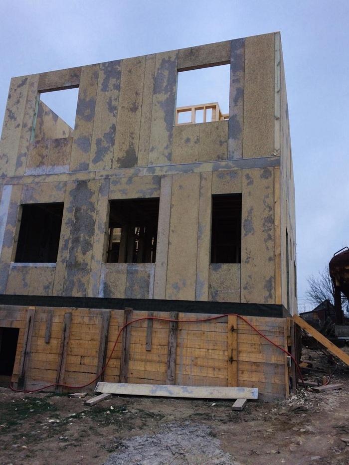 Строим СИП дом в Новороссийске
