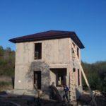 Строительство дома из СИП панелей в Сочи