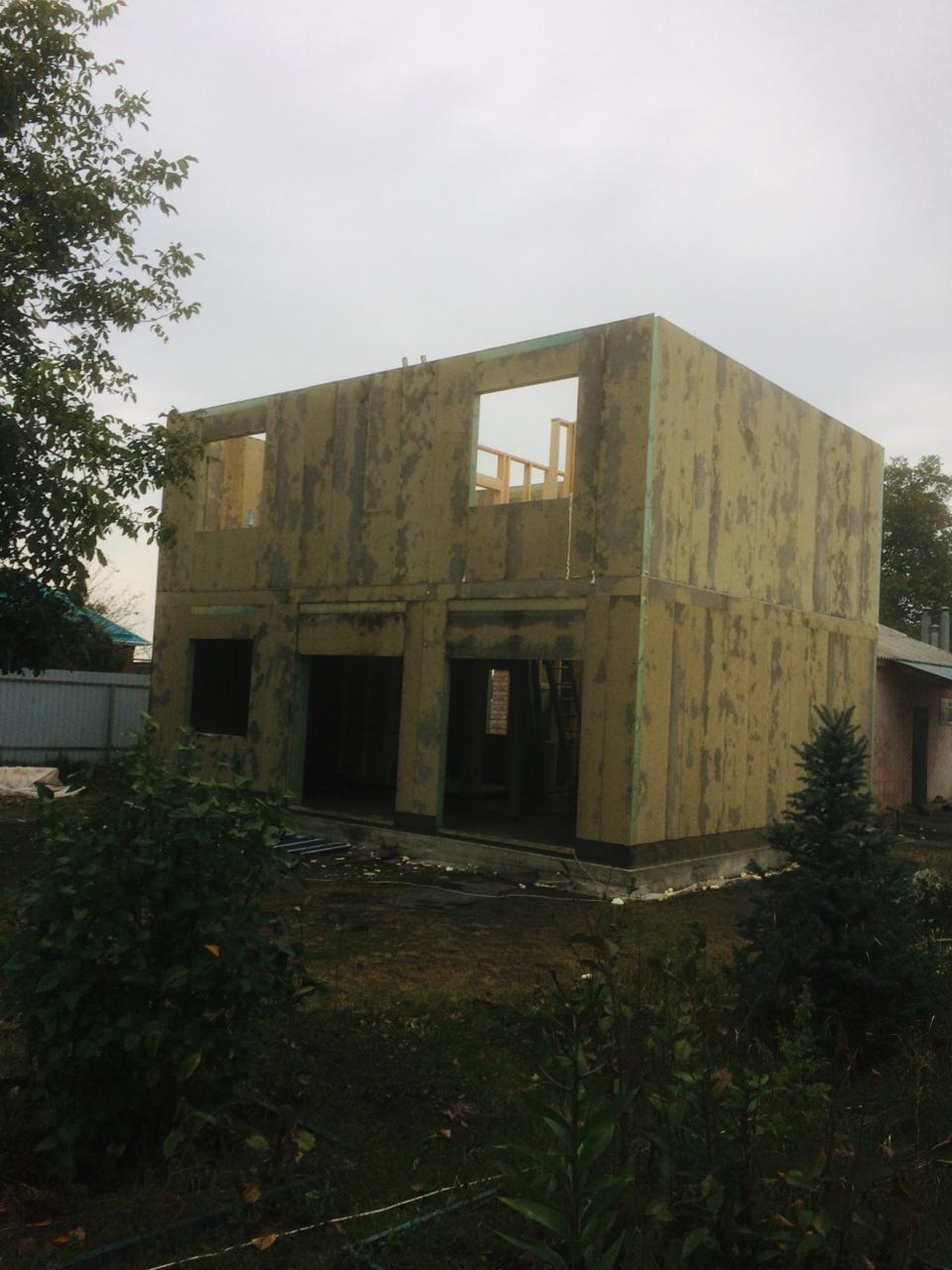Строительство СИП дома Новокубанск
