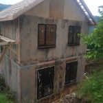 Остекление СИП дома в Адлере