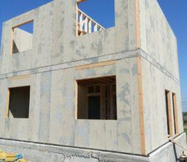 Строительство СИП дома в Анапе