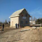 Строящийся СИП дом в городе Саки