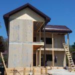 Заливка бетонной лестницы в доме из СИП панелей